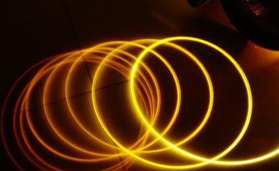 Side Emitting Optical fiber
