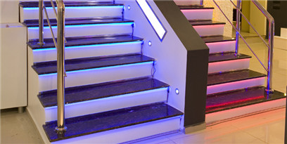 Optical fiber Stair Light kit
