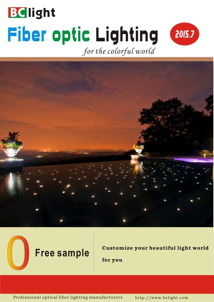 fiber optic lighting for swimming Pool