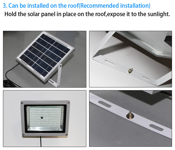 10W Solar LED lighting installation guide