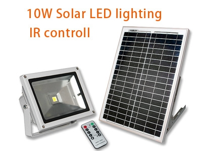 10W Solar LED lighting