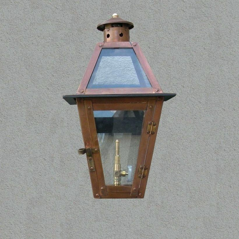 Cabin Outdoor Lighting Gas Wall Sconces Propane Lights For Copper