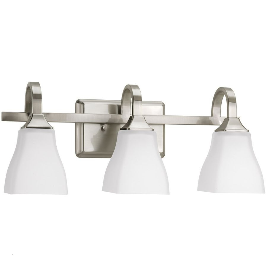 Nickel Bathroom Light Fixtures Fresh Simple Less Than 100 Delta 3 Olmsted Brushed