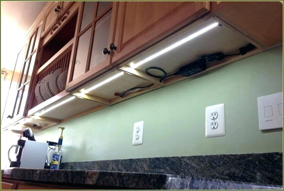 How To Install Under Cabinet Led Lighting Kitchen Installing Strip