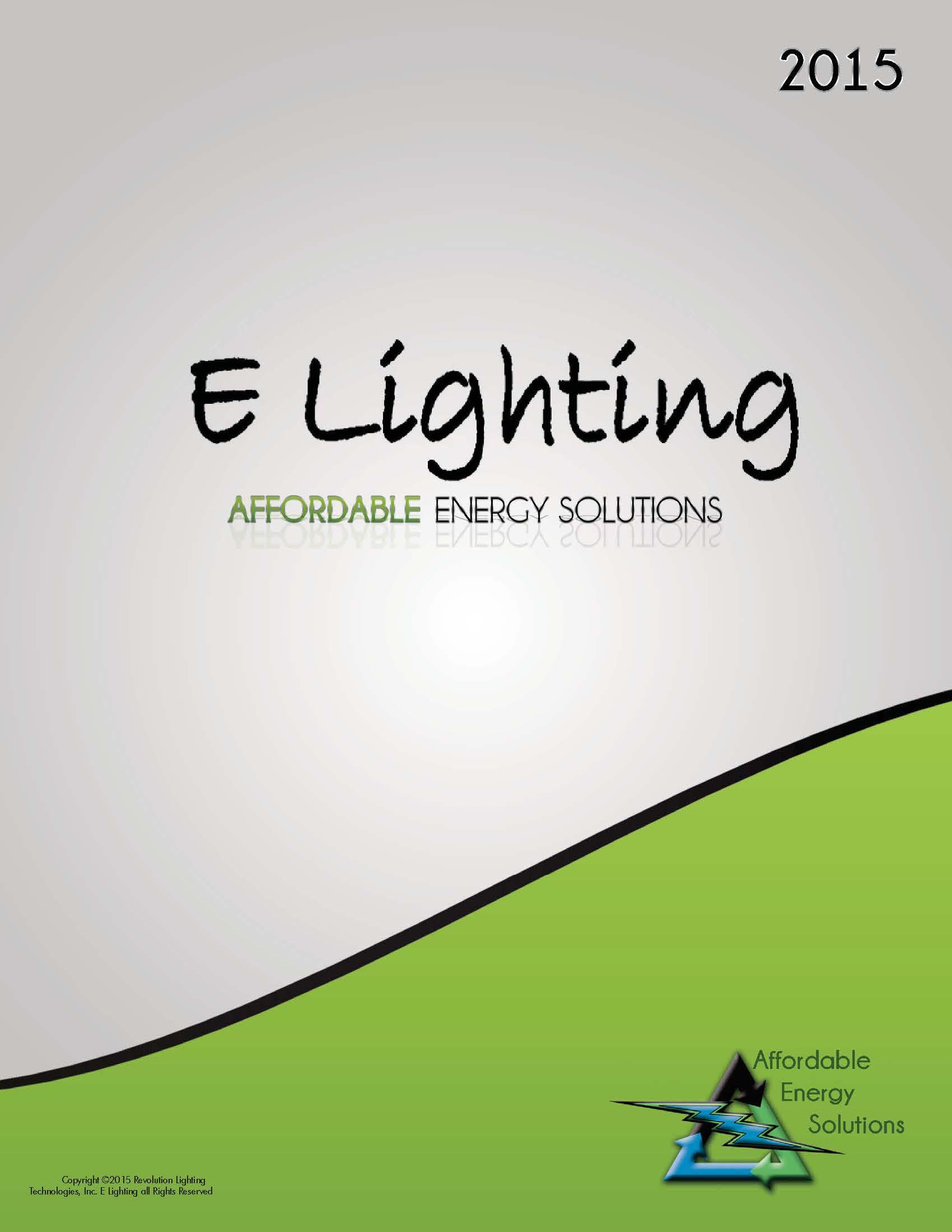 2017 E Lighting Catalog