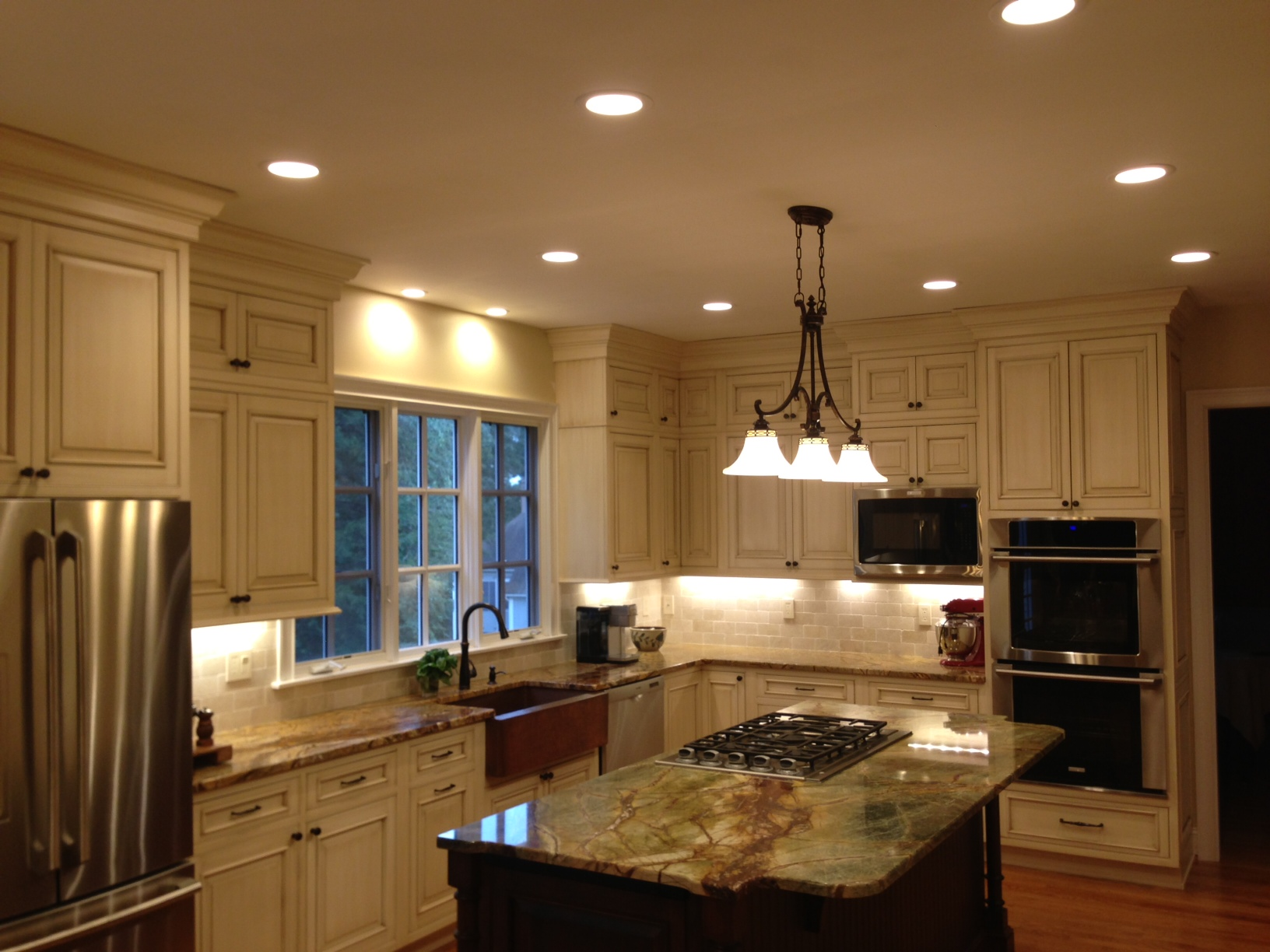Pot Lighting In Kitchen