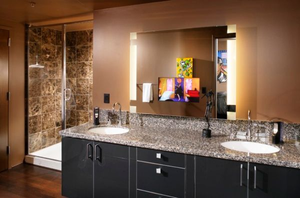 22 Bathroom Vanity Lighting Ideas To Brighten Up Your Mornings Inside With Mirror And Lights Remodel 11