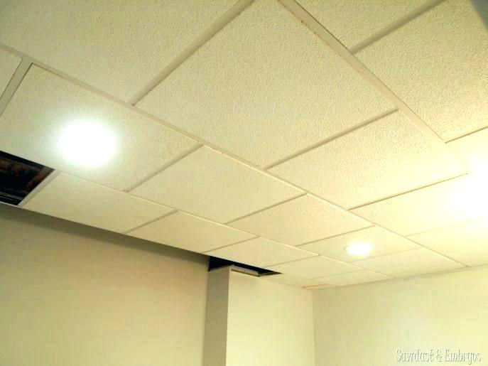 Suspended Ceiling Recessed Lighting Installation Drop Led Lights Light Fixtures Fixture Install Dr