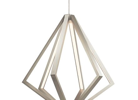 23 Elan Lighting Kyrzo Satin Aluminum Led Pendant