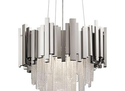 Elan Lighting Skyline Polished Nickel Led Pendant Light